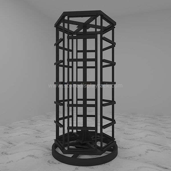 carousel sample display stand for stone quartz sdr-43-1