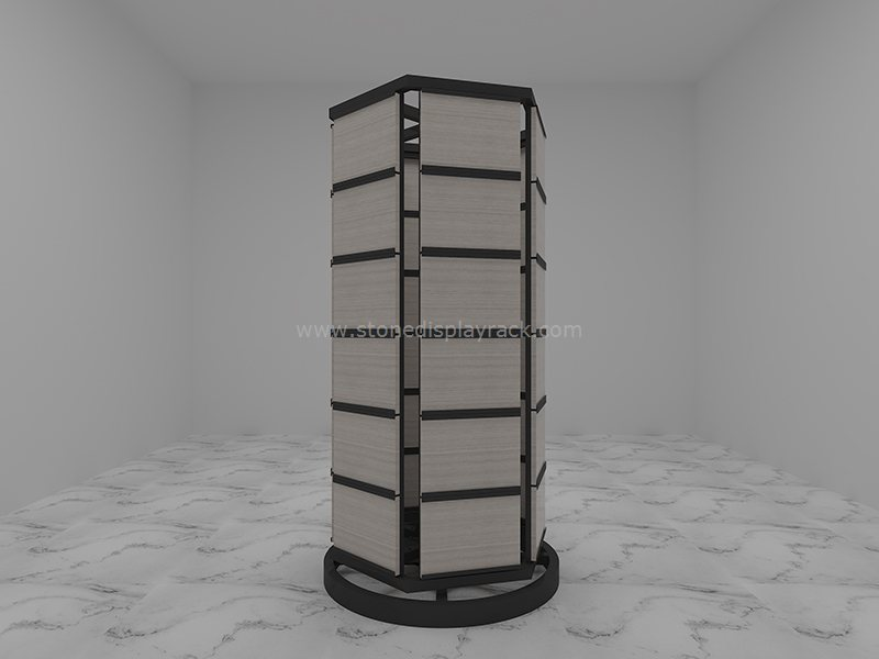 carousel sample display stand for stone quartz sdr 43-5