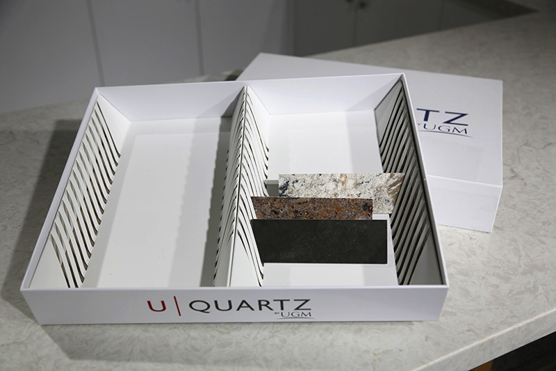 Granite Ceramic Tile Sample Display Box Marble Tray SDR-17 6