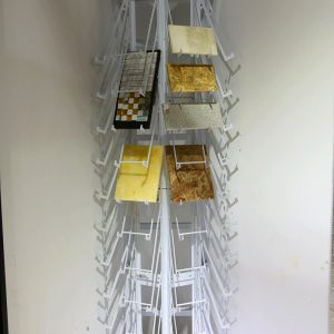 polydirectional quartz display rack marble stand sdr-24-1