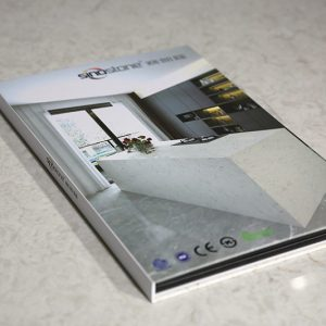 quartz marble sample display book sdr-5-1
