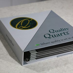 quartz marble sample display stand tile display book sdr-13-1
