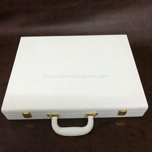Stone Sample Display Suitcase For Quartz Marble Tile SDR-67-5