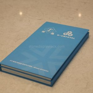 Marble Sample Display Books Stone Display Sample Stand SDR-78-1