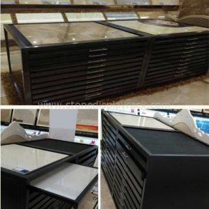 Stone Sample Display Stand for Quartz Tile Ceramic Marble Sample SDR-81-1
